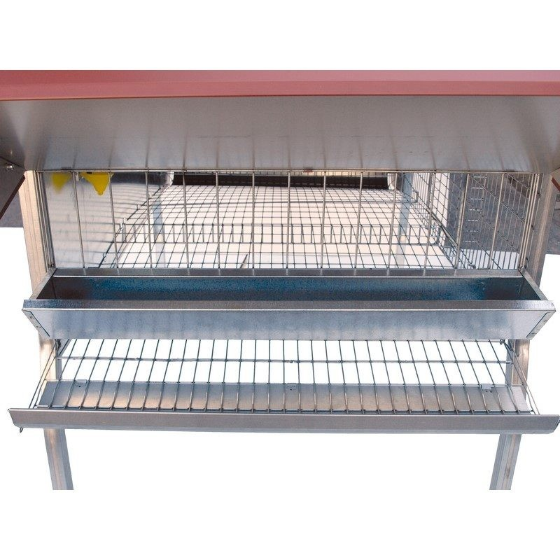Eco-ponedero para 12 gallinas