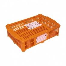 Jaula de transporte plástico pollos