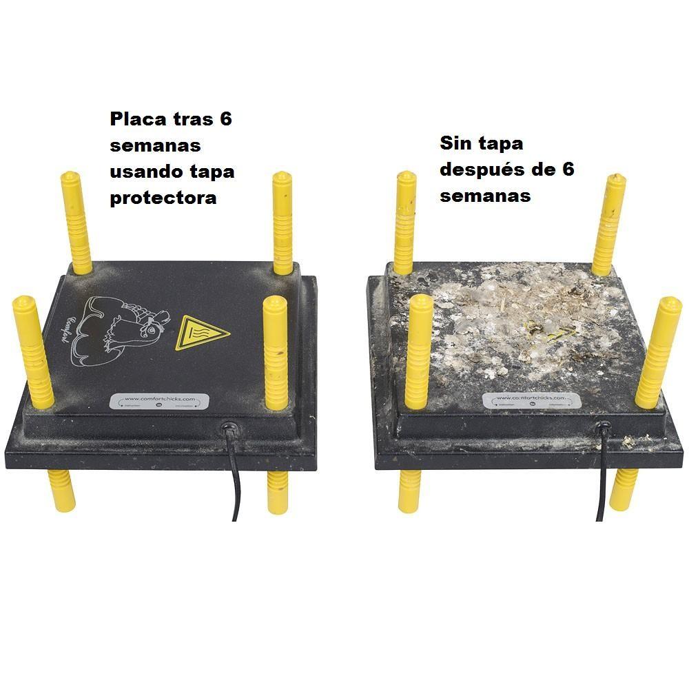 Tapa de protección PET para criadora