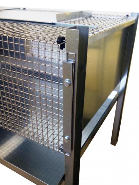Kit criadora galvanizada con reflector ELBA