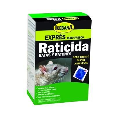 Raticida Ikebana cebo fresco 500 gr