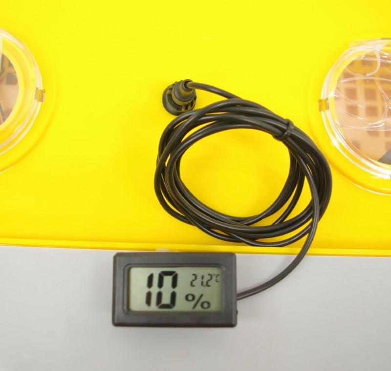 Termómetro - higrómetro TH-SS